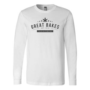 Women's Great Bakes Trading Company Tee With  Large Leaf