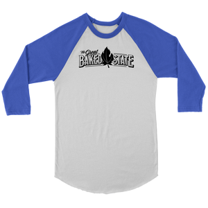 Great Baked State Unisex Raglan Shirt