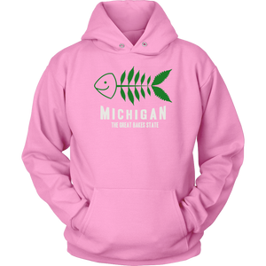 Great Bakes State Fish Hoodie