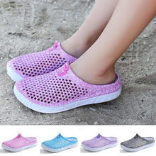 Women Summer Sandals Hollow Out Mesh Breathable Bird Nest Shaped Flat Antiskid Slippers Casual Beach Shoes Flip Flops zapatos
