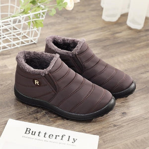 Women Winter Boots Unisex Couples Snow Boots Women Ankle Shoes New Fashion Color Ladies Ankle Boots  Waterproof Shoes Keep Warm