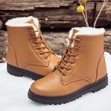 Black boots women winter shoes women's boot 2019 classic style ankle boots for woman snow booties warm shoes plus size 41-44