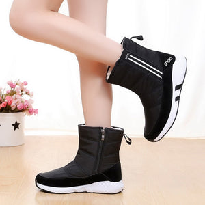 New 2018 Women winter boots platform ankle boots non-slip waterproof snow boots women winter shoes for -40 degrees