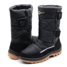 LIBANG 2019 Women Winter Shoes Warm Female Snow Boots Mid-Calf Winter Shoes for Women Brand Fashion Soft Women Shoes 36-41