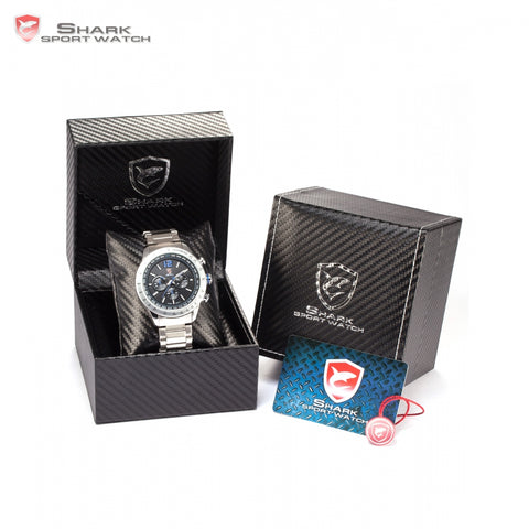 Luxury Leather Gift Box Pacific Shark Watch