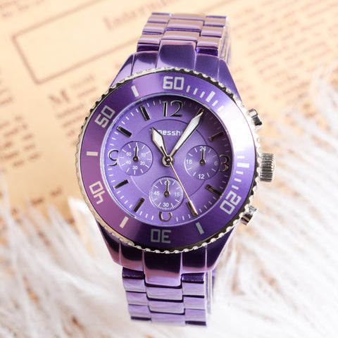 Timesshine Purple Watch
