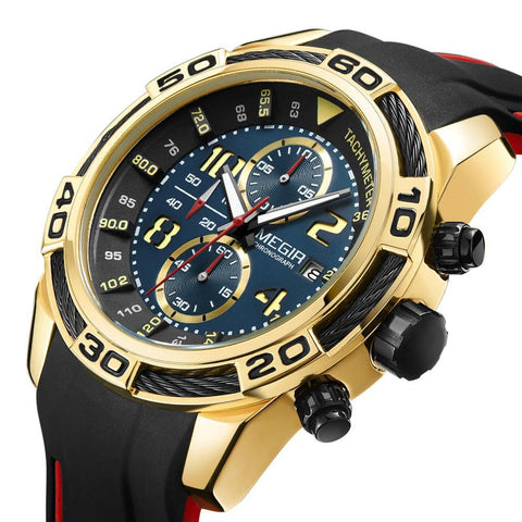 MEGIR Chronograph Sports Watch