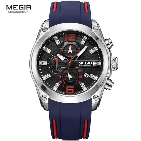 Megir Chronograph Analog Watch