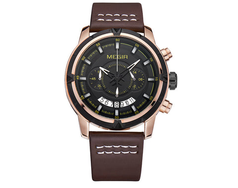 Megir Multi Chrono Watches