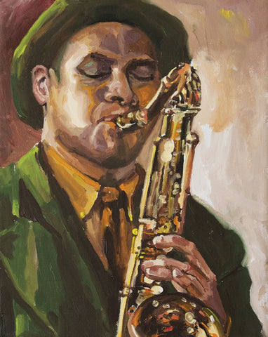 Jazz Man Limited Edition Print