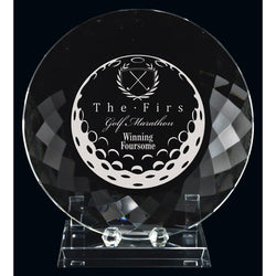Stratford Optic Crystal Award-D and G Trophies Inc.-D and G Trophies Inc.
