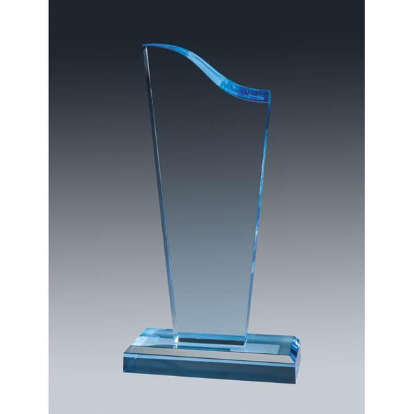 Acrylic Sapphire Wave, Top & Base-D&G Trophies Inc.-D and G Trophies Inc.