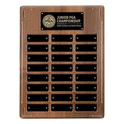 applause annual plaque xlarge laminate annual plaque-D&G Trophies Inc.-D and G Trophies Inc.