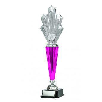 "Astral Series Starburst on Base 12.5"", Silver-D&G Trophies Inc.-D and G Trophies Inc."