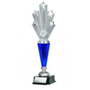 Astral Series Starburst on Base, Silver-D&G Trophies Inc.-D and G Trophies Inc.