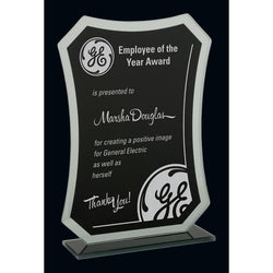 Avalon Black & Mirror Glass Award-D&G Trophies Inc.-D and G Trophies Inc.