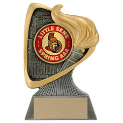 avenger insert holder resin trophy-D&G Trophies Inc.-D and G Trophies Inc.