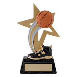big star basketball resin trophy-D&G Trophies Inc.-D and G Trophies Inc.
