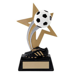 big star soccer resin trophy-D&G Trophies Inc.-D and G Trophies Inc.