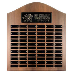 cathedral annual plaque xlarge laminate annual plaque-D&G Trophies Inc.-D and G Trophies Inc.
