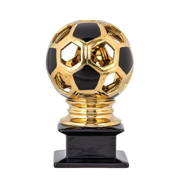 "Ceramic Hollow Soccer Ball 12""-D&G Trophies Inc.-D and G Trophies Inc."