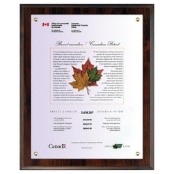 Certificate Holder (recessed)-D&G Trophies Inc.-D and G Trophies Inc.