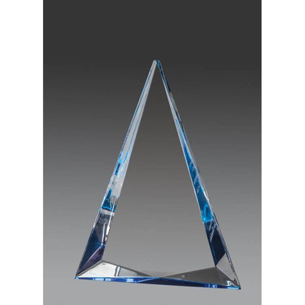Clear Acrylic Pyramid, Foil Edge-D&G Trophies Inc.-D and G Trophies Inc.