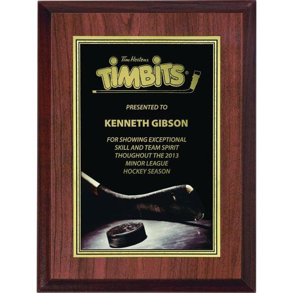 Coach Laminate plaque-D&G Trophies Inc.-D and G Trophies Inc.