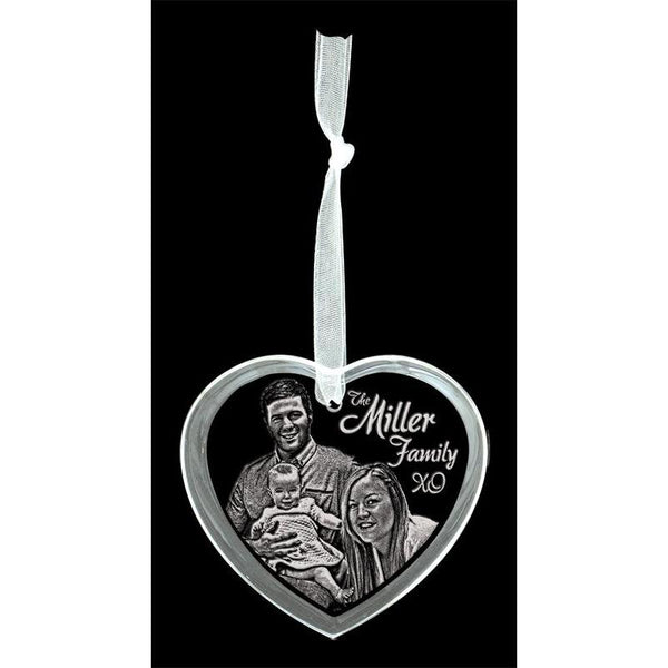 crystal heart ornament-D&G Trophies Inc.-D and G Trophies Inc.