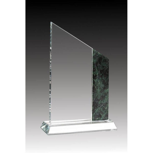"Crystal Peak, Marble Accent 8""-D&G Trophies Inc.-D and G Trophies Inc."