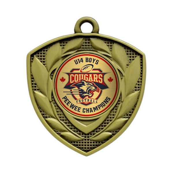 "defender medal 1"" insert medal-D&G Trophies Inc.-D and G Trophies Inc."