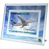 Double Border Mirror Glass Frame Sublimated