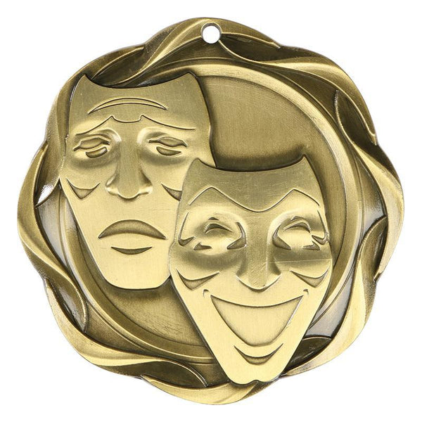 drama fusion medal-D&G Trophies Inc.-D and G Trophies Inc.