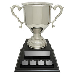 Dundee Cup Nickel Plated Brass-D&G Trophies Inc.-D and G Trophies Inc.
