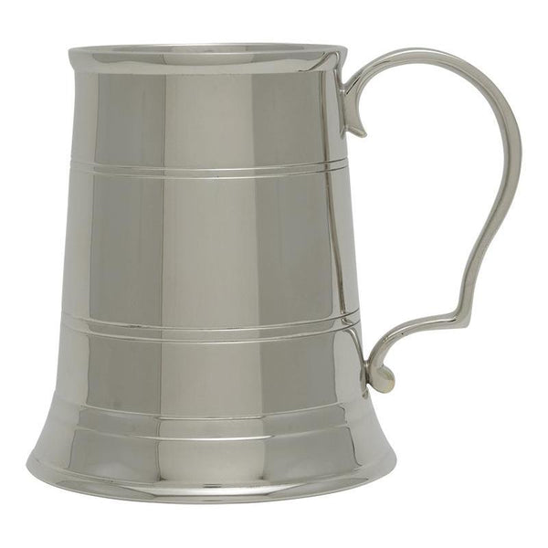 elegant tankard nickel plated brass-D&G Trophies Inc.-D and G Trophies Inc.