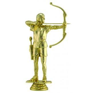 "Figure Archery Female 5.75""-D&G Trophies Inc.-D and G Trophies Inc."