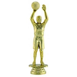 "Figure Basketball Male 5.5""-D&G Trophies Inc.-D and G Trophies Inc."