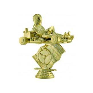 "Figure Go-Kart 4.5""-D&G Trophies Inc.-D and G Trophies Inc."
