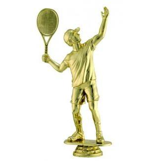 "Figure Tennis Male 6.25""-D&G Trophies Inc.-D and G Trophies Inc."