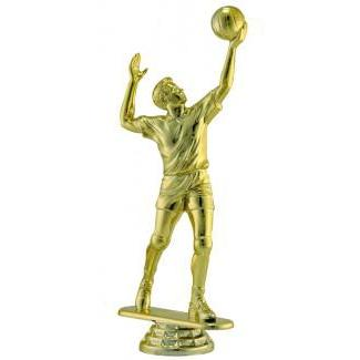 "Figure Volleyball Male 6.5""-D&G Trophies Inc.-D and G Trophies Inc."
