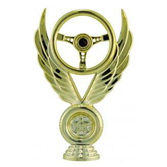 "Figure Winged Wheel 6""-D&G Trophies Inc.-D and G Trophies Inc."
