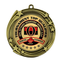 "galaxy medal bright 1"" insert medal-D&G Trophies Inc.-D and G Trophies Inc."