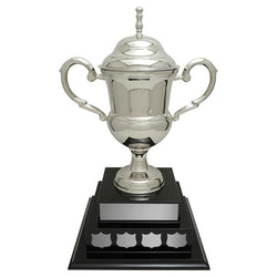 glasgow cup nickel plated brass-D&G Trophies Inc.-D and G Trophies Inc.