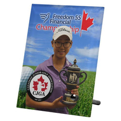 Glass Frame Sublimated-D&G Trophies Inc.-D and G Trophies Inc.