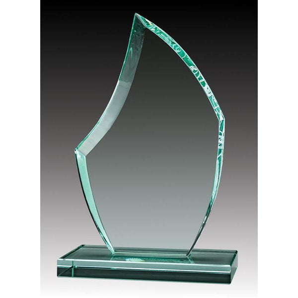 Glass Jade Apex-D&G Trophies Inc.-D and G Trophies Inc.
