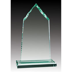 Glass Jade Mountain Peak-D&G Trophies Inc.-D and G Trophies Inc.