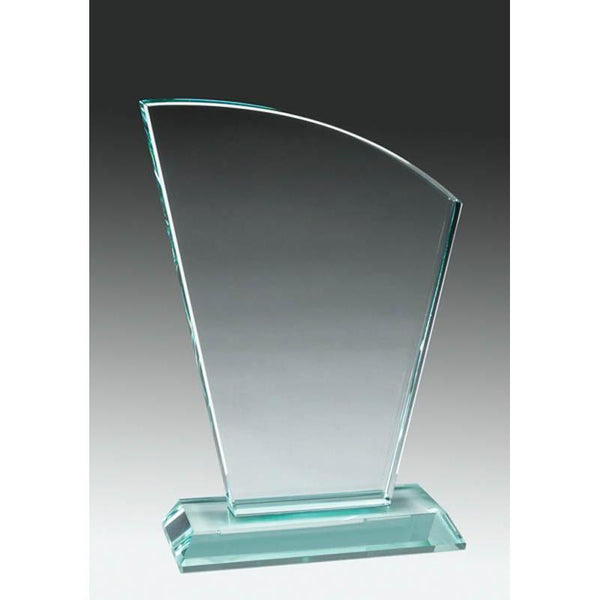 Glass Jade Sail-D&G Trophies Inc.-D and G Trophies Inc.