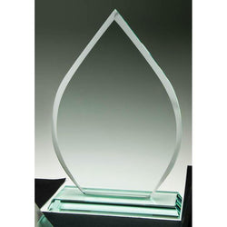 Glass Jade Teardrop-D&G Trophies Inc.-D and G Trophies Inc.