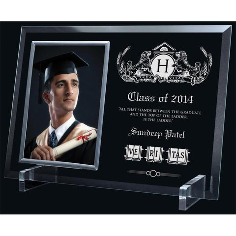 glass photo frame / holder sublimated frame-D&G Trophies Inc.-D and G Trophies Inc.