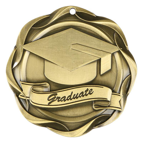 graduate fusion medal-D&G Trophies Inc.-D and G Trophies Inc.